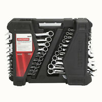 Craftsman 52pc Piece Combination Wrench Set Inch & Metric SAE Midget- 70699 NEW