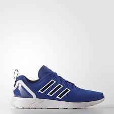 Adidas Originals ZX Flux ADV Reino Unido 11.5 euro 46 2/3 Azul Real Zapatos de grado B-Nuevo Y En Caja