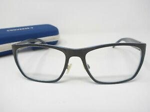 Converse Q303 Eyeglasses Frames Black 55-17-145 W/Case
