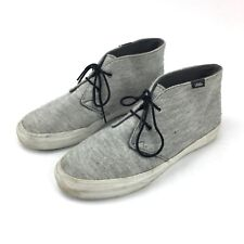 Vans High Top Shoes Mens Size 8.5 Womens Size 10 Grey Mid Skate