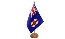 NEU Süd Wales Australien Tisch Flagge mit Holz Ständer