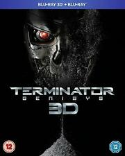 TERMINATOR GENESYS 3D BLU RAY SEALED SENT 1ST CLASS (FREE IN THE UK) SEE PICS
