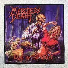 MERCILESS DEATH Evil In The Night Coaster Custom Ceramic Tile
