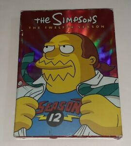 The Simpsons: The Complete Twelfth Season 12 (DVD 4-Disc Set) Collectors Edition