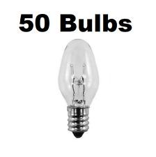 50 Pack Light Bulbs 15W for SCENTSY Plug-In Warmer Wax Diffuser 15 Watt 120 Volt