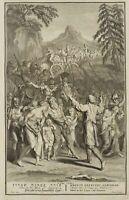 BAUVAIS; PICART, Oded bei den Samaritern, 2. Cron., 28 9, um 1700, Kupferstich
