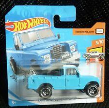Hot Wheels 2019 HW Hot Trucks 111/250 Land Rover Series lll Pickup ( Blue )