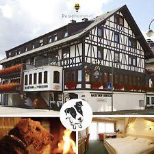 3 Tage Kurzurlaub mit Hund Schwarzwald 3★S Akzent Hotel Hirsch Lossburg Wellness