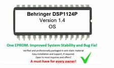 Behringer DSP1124P Version - 1.4 Firmware Update Upgrade EPROM OS for DSP-1124