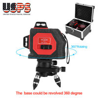 12 Line 3D Automatical Self-leveling Horizontal & Vertical Cross Laser Level