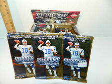 2000 Upper Deck Football Cards 3 Pack Lot Factory 3x Packs Brady Rookie
