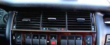 D Audi A8 D2 Chrom Rahmen für Lüftungsschacht Mitte - Edelstahl poliert