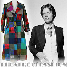 RARE VINTAGE COAT 60s TOMMY NUTTER JACKET TWEED SAVILE ROW ICONIC HIPPY-LUXE 70s