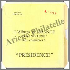 CERES - FRANCE Présidence - Année 1959 - Timbres Courants - AVEC Pochettes