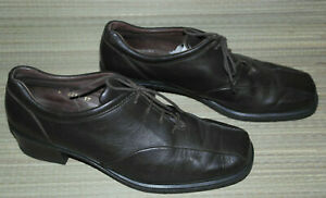 ROHDE WOMENS BROWN LACE UP LEATHER FORMAL/CASUAL SHOES SIZE:7/41(WS54)