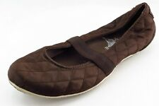 Converse All Star Mary Janes Brown Fabric Women Shoes Size 7.5 Medium (B, M)
