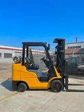 2015 Cat Propane Forklift 6000 Lb Capacity With Triple Stage Mast 198 Triple