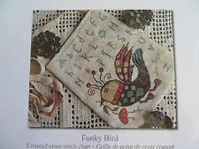 Barbara Ana Designs Counted X-stitch Chart - Funky Bird