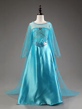 ELSA FROZEN DRESS FOR BABY GIRL KIDS  BIRTHDAY, PARTY DRESSES 3-6 Years SIZE 130