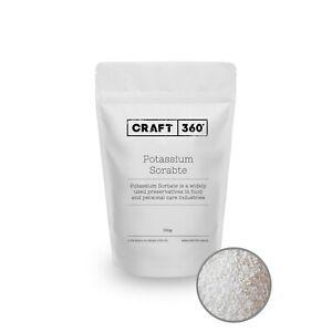 Potassium Sorbate Granules - Food Grade Preservative Cosmetic Brewing E202