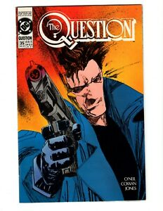 THE QUESTION #35 (VF-NM) 1990