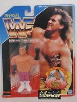 Hasbro Official Figure WWF WWE THE MODEL RICK MARTEL 1993 Blue US card NEW