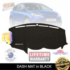 DASH MAT FORD Focus LW Hatch & Sedan Trend Sport Titanium 6/2011-19 DM1234 BLACK