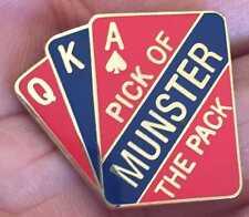 Munster Rugby Unión Pick del envase Insignia Pin Esmalte