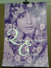 AFFICHE QUINZAINE DU CHEMISIER CACHAREL MODES FEMMES 1969 PHOTO SARAH MOON