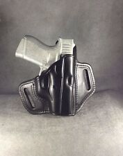 Glock 43 w/CT Leather Pancake Holster by ETW Holsters...Hickory, NC