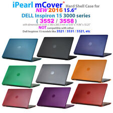 "NEW iPearl mCover Hard Case for 15.6"" Dell Inspiron 15 3552 3558 series laptop"