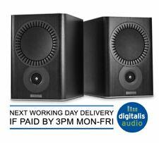 Mission QX-2 Bookshelf Loudspeakers in Black Wood- Authorised dealer