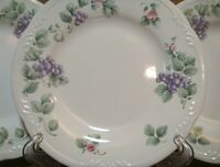 "SET OF 4 - PFALTZGRAFF GRAPEVINE - 8 1/4"" SALAD PLATES - NICE - MORE AVAILABLE"