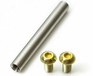 1 Shock Axle (8 Sizes) + 2 Screws all in Titanium (4 Colors) - 43% lighter!