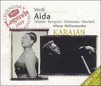 Decca Legends: Verdi: AIDA (CD, Sep-1999, 2 Discs, Decca)