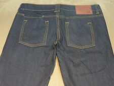 025 WOMENS EX-COND DC SHOES STR8 DARK BLUE STRETCH JEANS 28 SHORT $130.