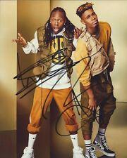 Misunderstood autographs - signed x factor photo