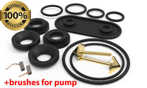 Heater Control Valve Repair Kit for Mercedes-Benz W140, C140 + BRUSHES FOR MOTOR