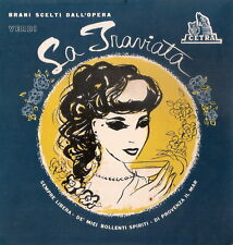 LA TRAVIATA - Brani scelti dall'opera di G. Verdi - Cetra Extended Play 45