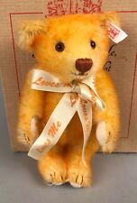 "Vintage Steiff Teddy Bear - Mini Loves Me Not 666780 2002 6"" LE 304/2002 COA NIB"