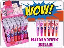 WOW! Lip Color FASHION Romantic MAY Lip Gloss Long Lasting Lipstick (Box 24 PCS)