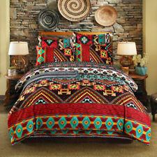 Ethnic 3-pieces Duvet Cover Set King Queen Size Bedding Set Pillow Shams