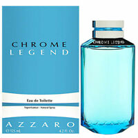 Azzaro Chrome Legend Edt Eau de Toilette Spray for Men 125ml NEU/OVP
