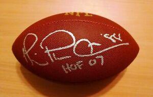 Dallas Cowboys Michael Playmaker Irvin HOF 2007 Signed Photo 8x10 COA