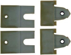 Door Glass Attaching Clips Front,Rear Dorman 38480