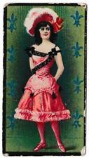British American Tobacco - 'Beauties - Girls in Costumes' (c1903) - Card #19