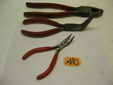 Mac tools P301701 Stubby Red Handle Bent Needle Nose Pliers plus to other tools