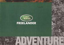 Land Rover Freelander 5-dr 'Adventure' 1997-98 UK Market Picture Brochure