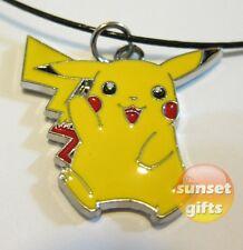 Pikachu Pokemon necklace