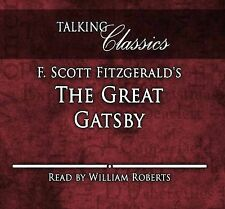 The Great Gatsby by F. Scott Fitzgerald CD AUDIO BOOK NEW SEALED WILLIAM ROBERTS